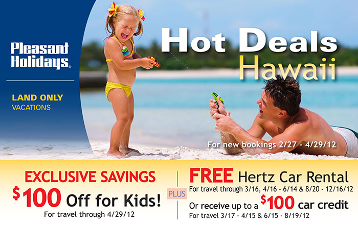 EXCLUSIVE Hawaii Savings: $100 Off For Kids, FREE Car And More!